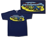 Keep On Truckin Retro Tee Shirt