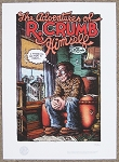 Adventures Of R Crumb Giclee Print