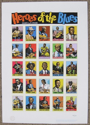 Heroes Of The Blues Giclee Print