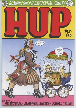 Hup Comics Issue #3 (Crumb Vs. Trump!)