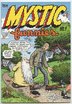 Mystic Funnies #1 (1st Printing in color)