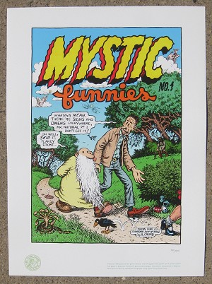 Mystic Funnies Giclee Print