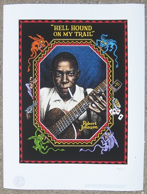 Hellhound On My Trail Robert Johnson Giclee Print
