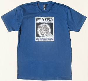 Wanted by FBI T-Shirt (Blue)
