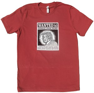 Wanted by FBI T-Shirt (Red)